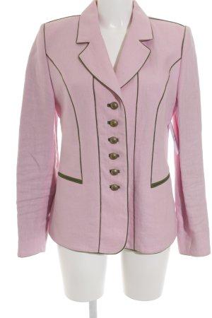 Kaiser Franz Josef Jerseyblazer rosé-grün Elegant