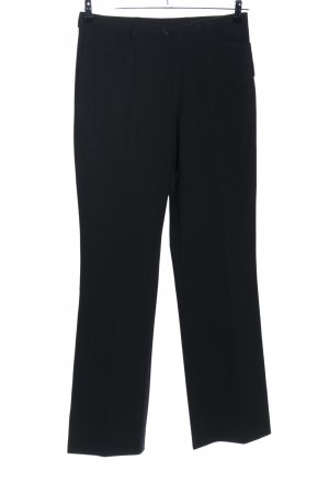 Pantalón de pinza negro look casual