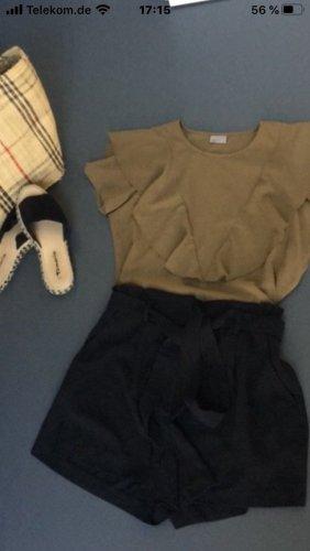 Kakhifarbene Bluse von Vero Moda