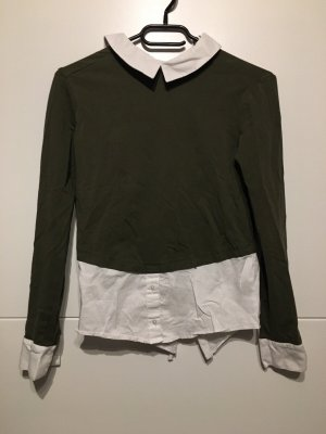 Kaki bluße /Hemd