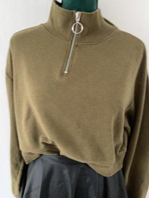 Anna Dello Russo for H&M Sweatshirt groen-grijs