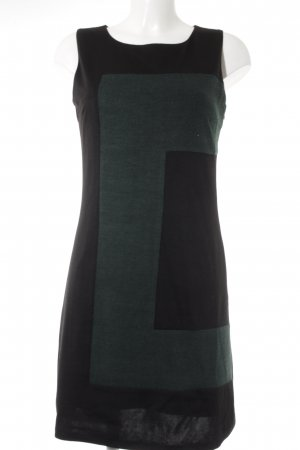 Kala Etuikleid schwarz-kadettblau Colourblocking Elegant