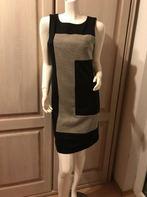 Kala Kleid schwarz weiß Retro Look S neuwertig Etuikleid Sixties