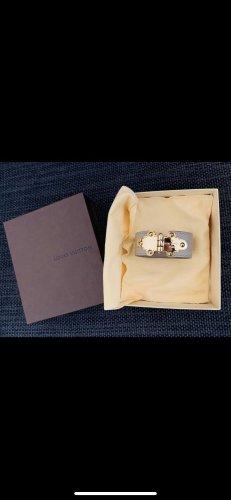 Louis Vuitton Braccialetto di cuoio crema-color carne