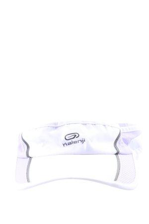 Kalenji Cappello con visiera bianco-grigio chiaro stile casual