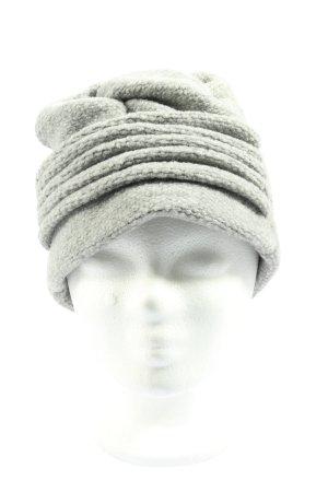 Kamea Wełniana czapka jasnoszary W stylu casual