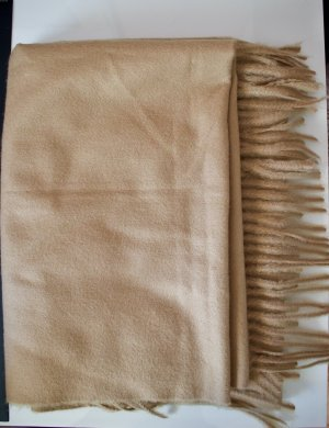 Zara Accesoires Woolen Scarf camel