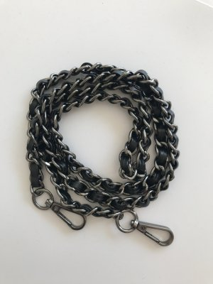 Chain Belt black-silver-colored