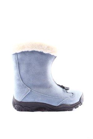 Kamik Sneeuwlaarzen blauw-wolwit casual uitstraling