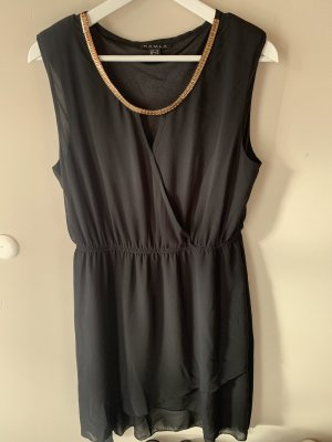 Kamla Kleid schwarz Gold