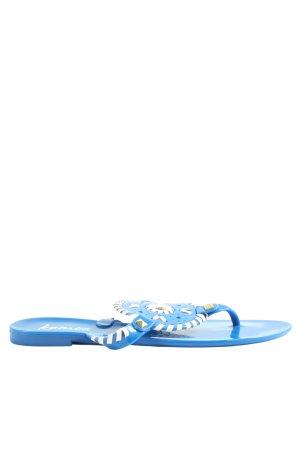 Kamoa Flip-Flop Sandals blue-white casual look