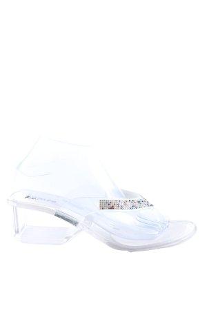 Kamoa Flip flop sandalen wit casual uitstraling