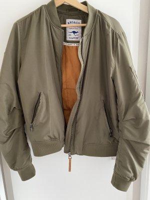 Kangaroos Bomber Jacket olive green-khaki