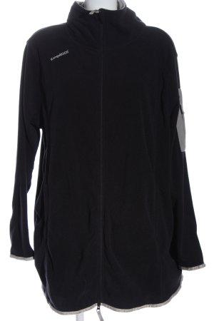 Kangaroos Fleece Jackets black flecked casual look
