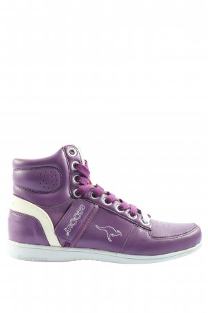 Kangaroos High Top Sneaker lila Casual-Look