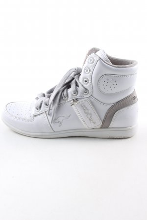Kangaroos High Top Sneaker weiß-hellgrau Casual-Look