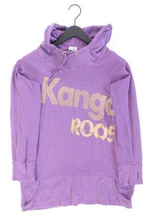 Kangaroos Maglione con cappuccio lilla-malva-viola-viola scuro Cotone