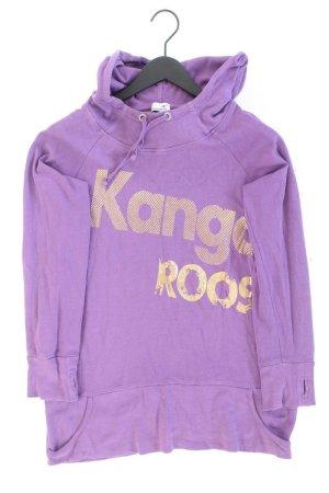 Kangaroos Kaputzenpullover Größe 40 lila aus Baumwolle