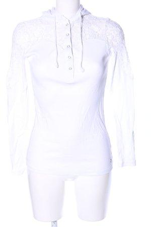 Kangaroos Camicia con cappuccio bianco stile casual