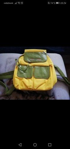 Kangaroos Plecak żółty-zielono-szary