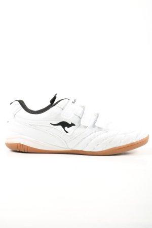 Kangaroos Sneaker Klettverschluss weiß Casual-Look