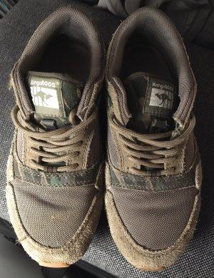 Kangaroos Sneaker olive / Tarnfarben