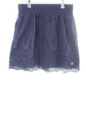 Kangaroos Falda de encaje azul estampado floral look casual