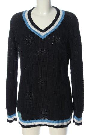 Kangaroos Maglione lavorato a maglia nero stile casual