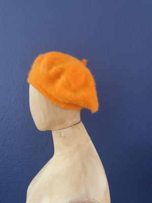Kangol Basken Mütze orange
