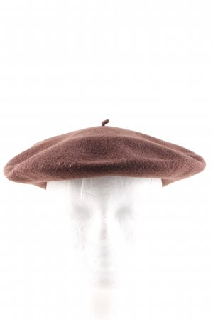 Kangol Beret brown casual look