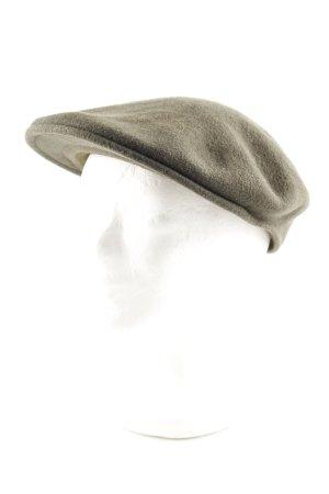 Kangol Platte pet khaki casual uitstraling