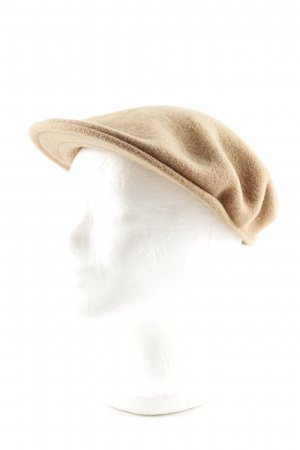 Kangol Gorro plano marrón look casual