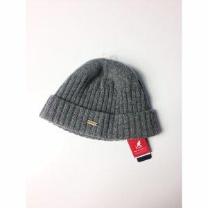 Kangol Cappello a maglia grigio-grigio scuro