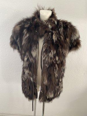 Vintage Fur vest multicolored