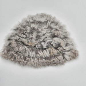 Millestone Chapeau en fourrure multicolore