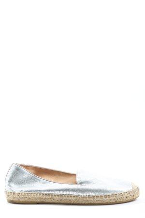Kanna Espadryle srebrny W stylu casual