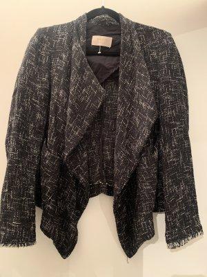 Kaos Tweed Blazer black-white