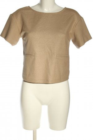 Kaos Cropped Top nude Business-Look