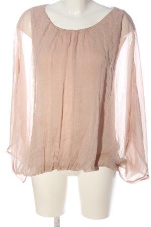 Kaos Blouse à enfiler rose chair style décontracté