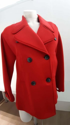 Kaos Gabardina tipo vestido rojo