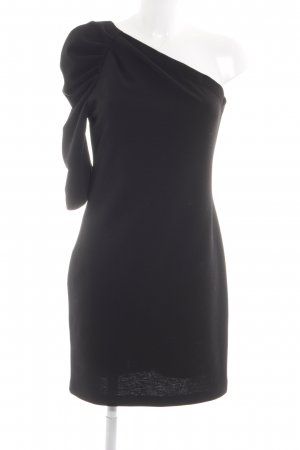 Kaos One-Shoulder-Kleid schwarz Elegant