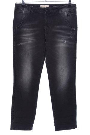 Kaos Slim Jeans schwarz Casual-Look
