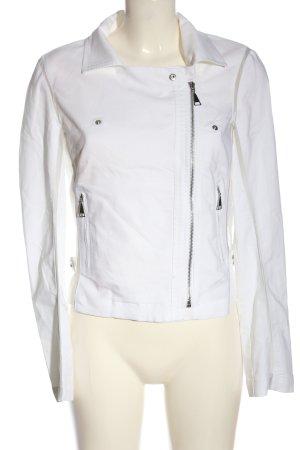 Kapalua Biker Jacket white casual look