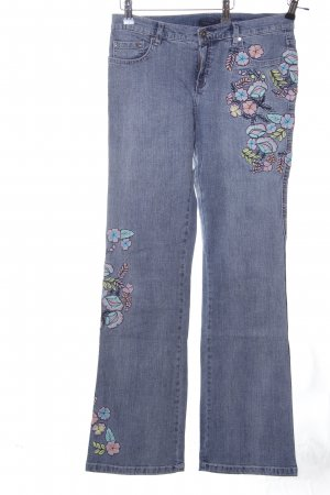 Kapalua Boot Cut Jeans blau Casual-Look