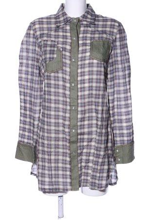Kapalua Shirtwaist dress check pattern casual look