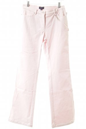 Kapalua pantalón de cintura baja rosa empolvado look casual