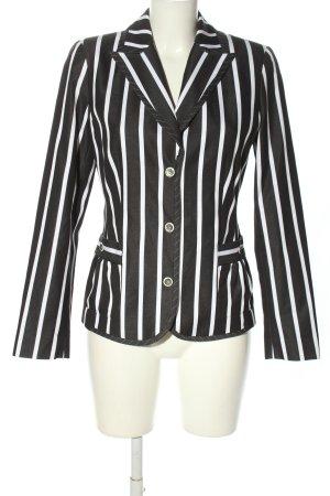 Kapalua Short Blazer black-white striped pattern casual look