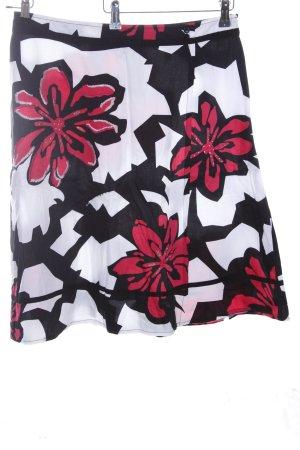 Kapalua Minirock Blumenmuster Casual-Look