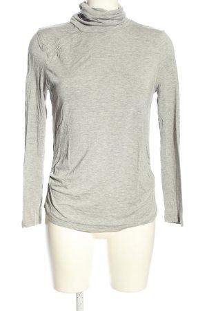 Kapalua Maglia a collo alto grigio chiaro puntinato stile casual