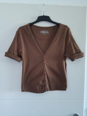 Kapalua Short Sleeve Knitted Jacket brown